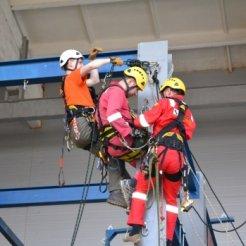 Обучение безопасности на высоте